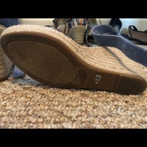 Nautica Shoes - NAUTICA DENIM WEDGES